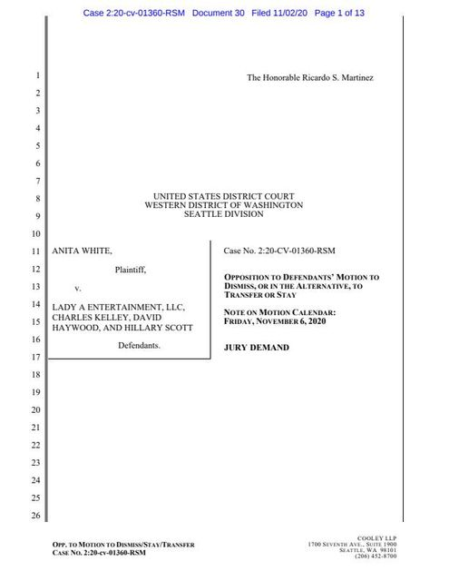 Anita White Strikes Back With Second Trademark Suit featured image