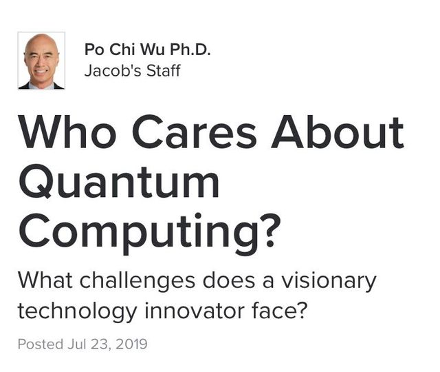 Who cares about Quantum Computing? featured image
