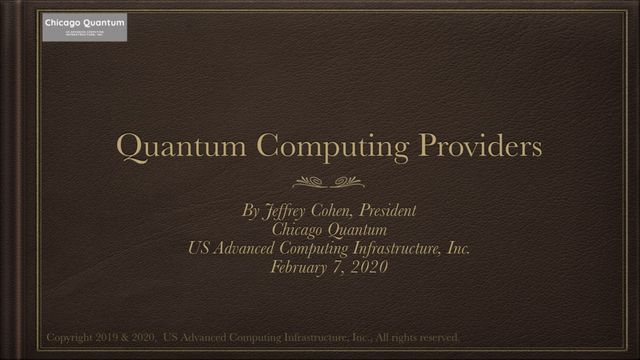 Quantum computing: an overview of current hardware providers. featured image