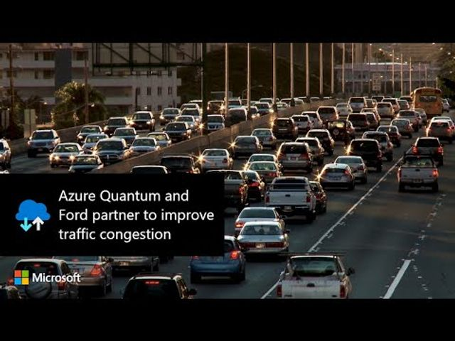 Azure Quantum and Ford partner to improve traffic congestion featured image