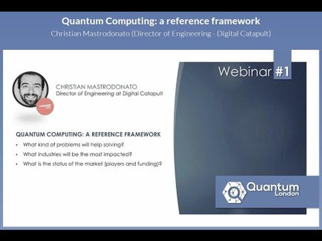 Quantum London  Webinar #1 featured image