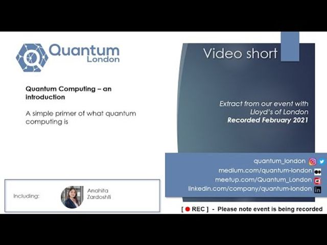 Video: What is Quantum Computing featured image