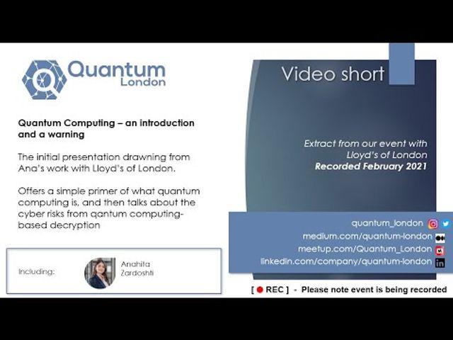 A quantum computing intro featured image
