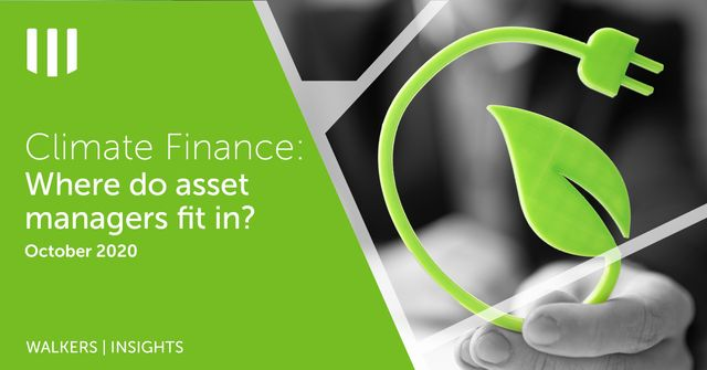 Climate Finance - Where do asset managers fit in? featured image