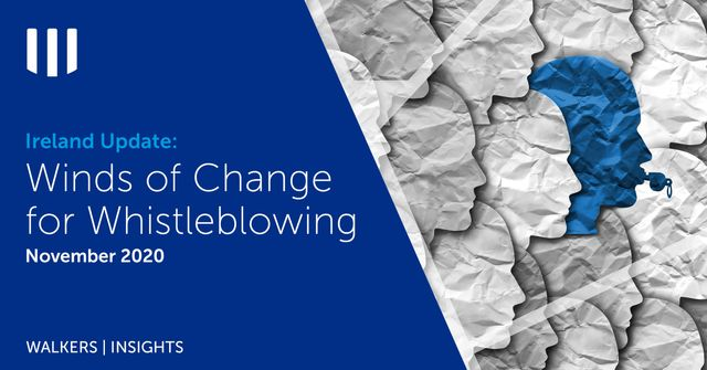 Ireland Update: Winds of Change for Whistleblowing featured image