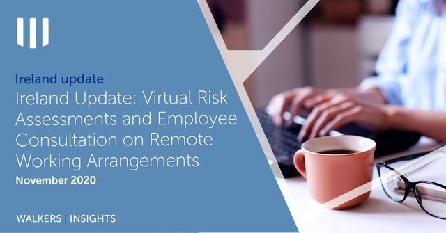 Ireland Update: Virtual Risk Assessments and Employee Consultation on Remote Working Arrangements featured image