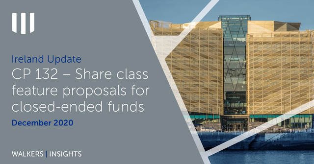 CP 132 – Share class feature proposals for closed-ended funds featured image