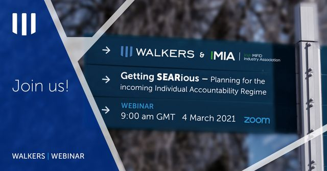 Getting SEARious Webinar – Planning for the incoming Individual Accountability Regime featured image