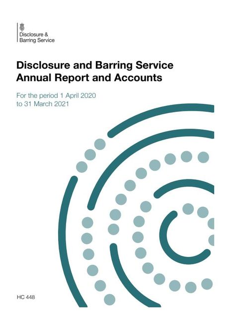DBS publishes Annual Report - Barred list grows by over 4,000 featured image
