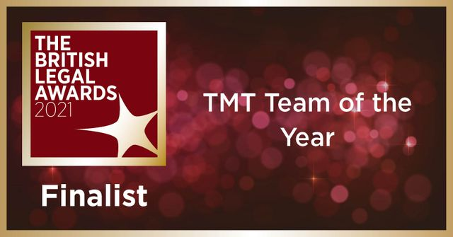 Deloitte Legal shortlisted for TMT Team of the Year in British Legal Awards featured image