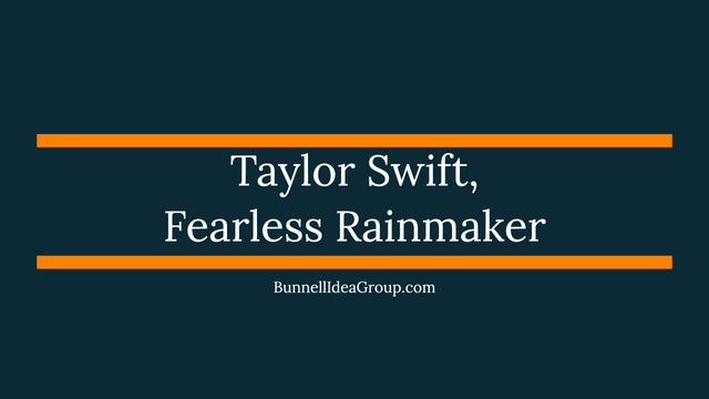 Taylor Swift, Fearless Rainmaker featured image