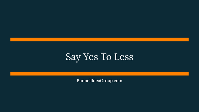 Say Yes To Less featured image