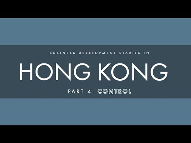 BD Diaries in Hong Kong, Part 4: Control featured image
