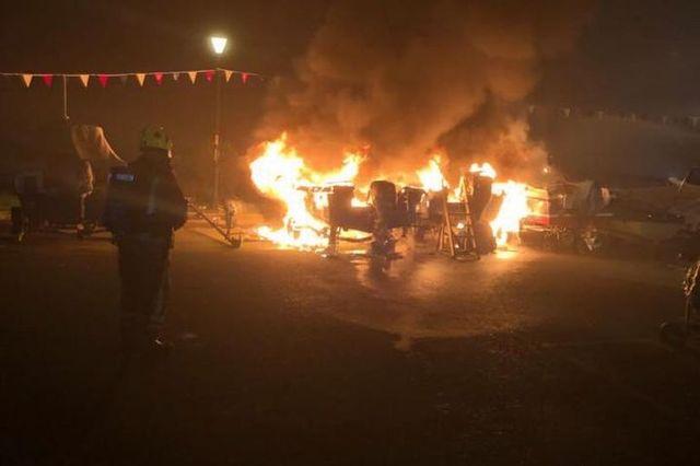 Yacht deliberately set ablaze featured image