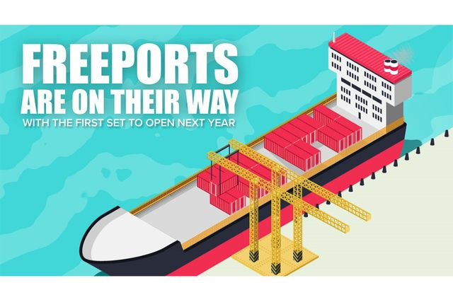 Latest Government announcement backing Freeports featured image