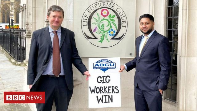 A win for Uber drivers but what will it mean for the future of the gig economy? featured image