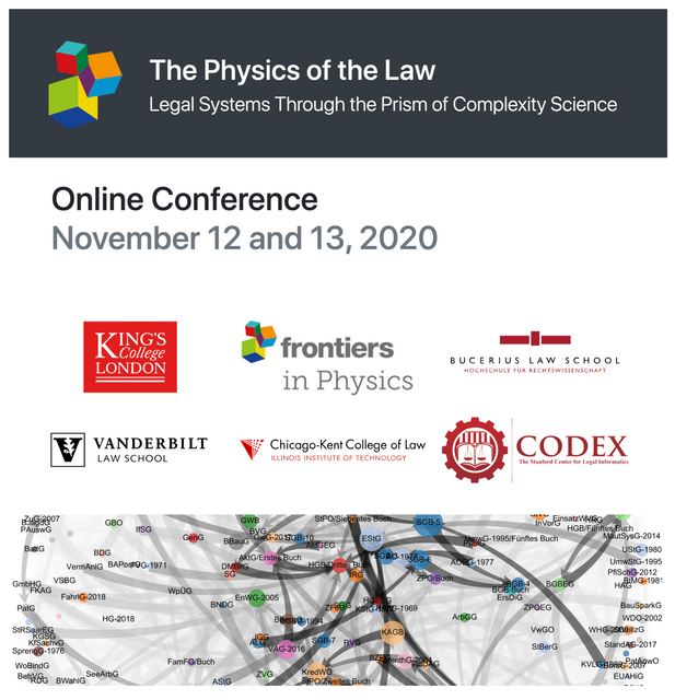 The Physics of Law - Dispatches from the Frontiers of the Legal Science featured image