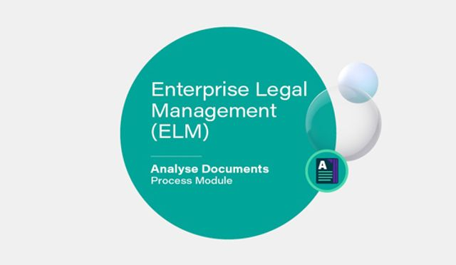 Elevate's Analyse Documents ELM Module: AI You Can Use featured image