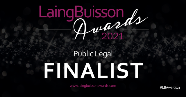 Burges Salmon Healthcare team named as a finalist in the Laing Buisson Awards 2021 featured image