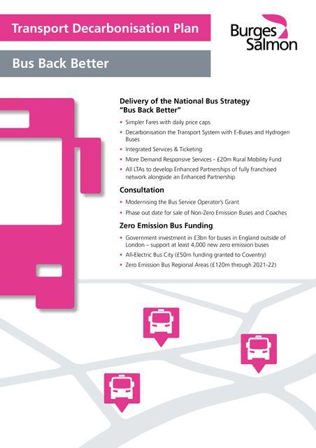Transport Decarbonisation Plan - Let's Bus Back Better featured image