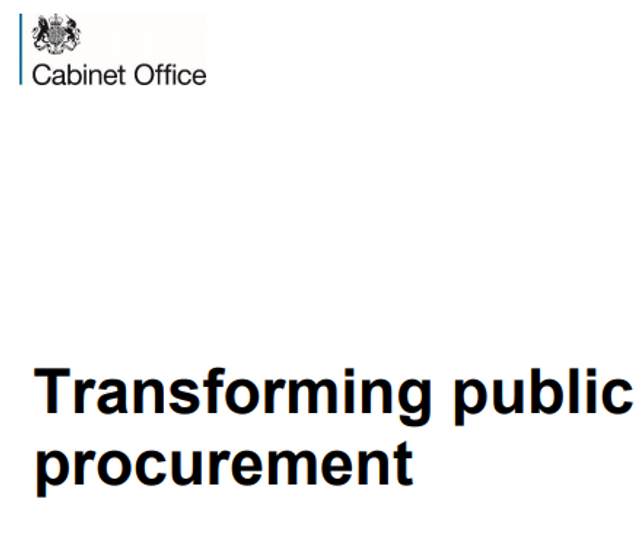 """Government releases long-awaited Green Paper - """"Transforming Public Procurement"""" featured image"""