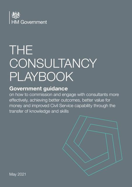 """UK Government launches """"The Consultancy Playbook"""" featured image"""