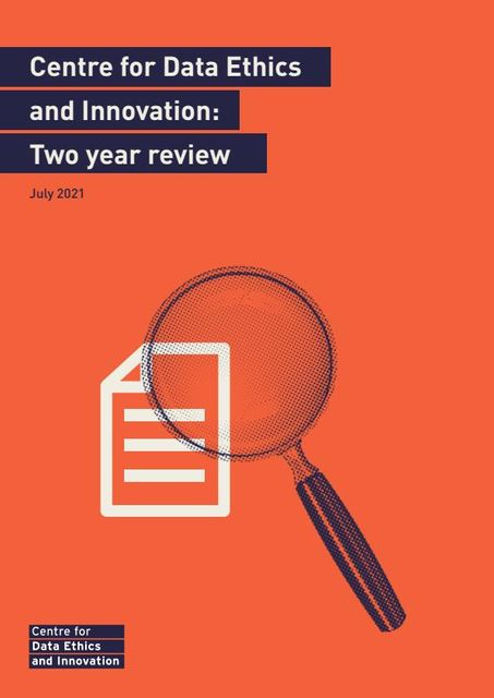 AI assurance and responsible innovation: Centre for Data and Ethics report featured image