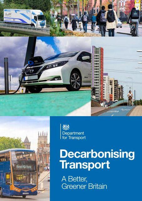 Transport Decarbonisation Plan - EV Highlights featured image
