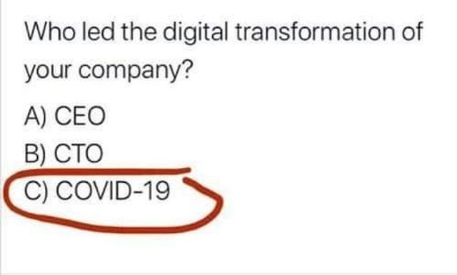 COVID 19 – A Wake-Up Call for Digital Transformation featured image