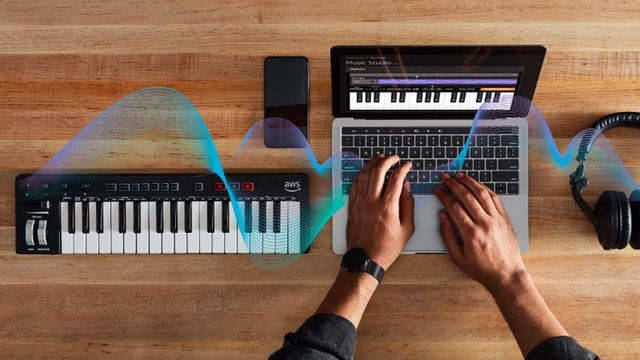 AWS DeepComposer: ML Enabled Musical Keyboard featured image