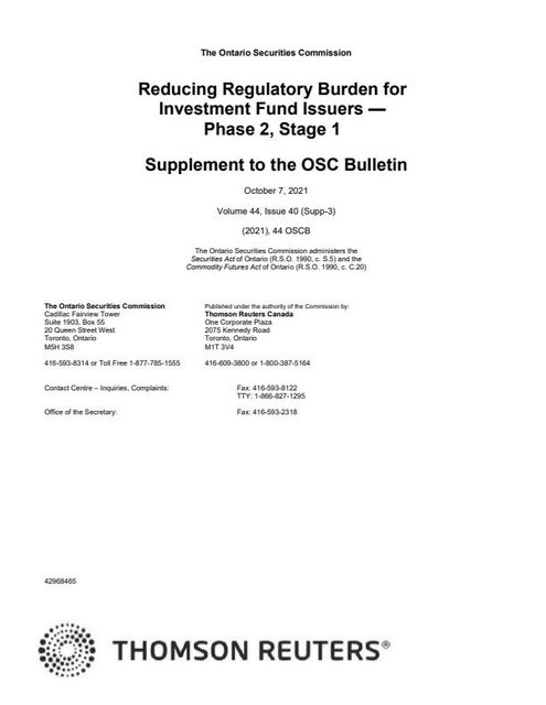 CSA Implements 8 Initiatives to Reduce Regulatory Burden for Investment Funds featured image