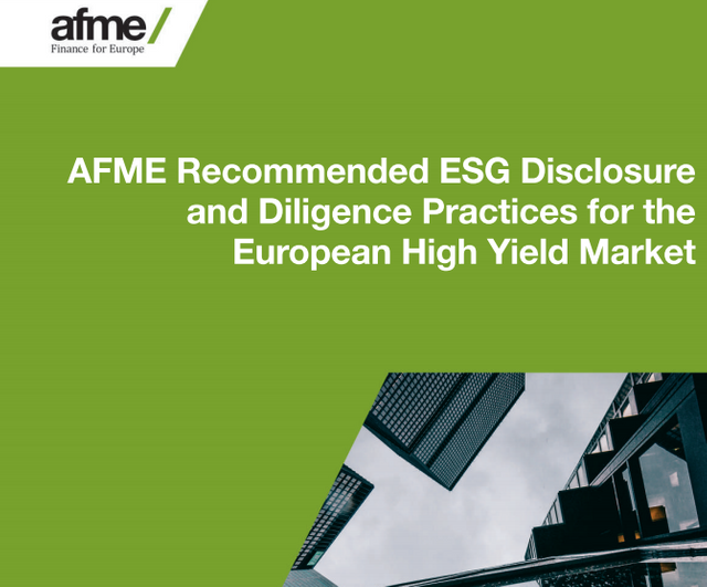 European high yield ESG guidelines published featured image