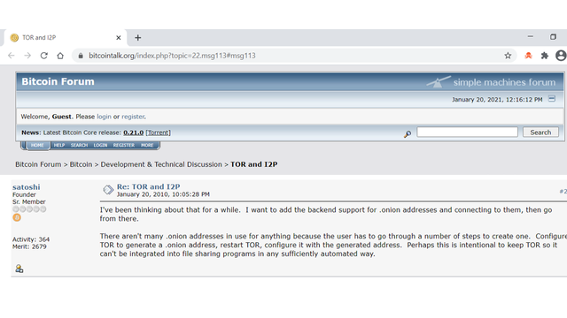 OTD: What Satoshi said... featured image