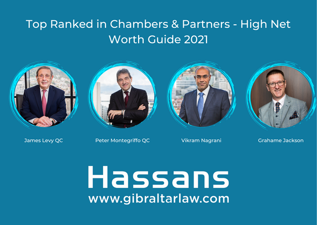 Hassans ranks Tier 1 in Chambers and Partners High Net Worth Guide 2021 featured image