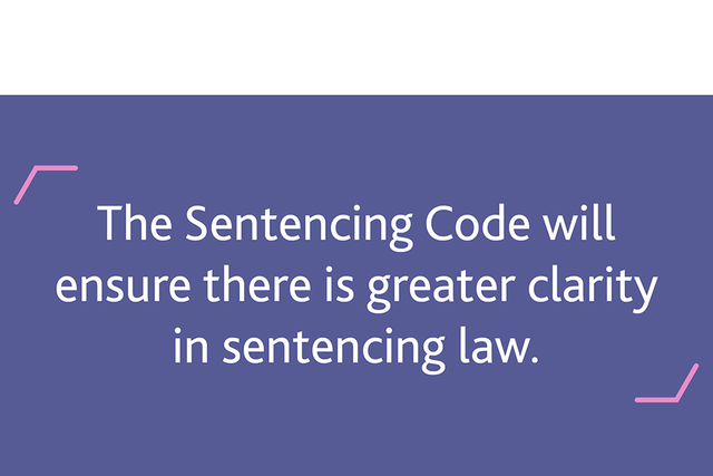 New sentencing code unveiled in UK Parliament featured image