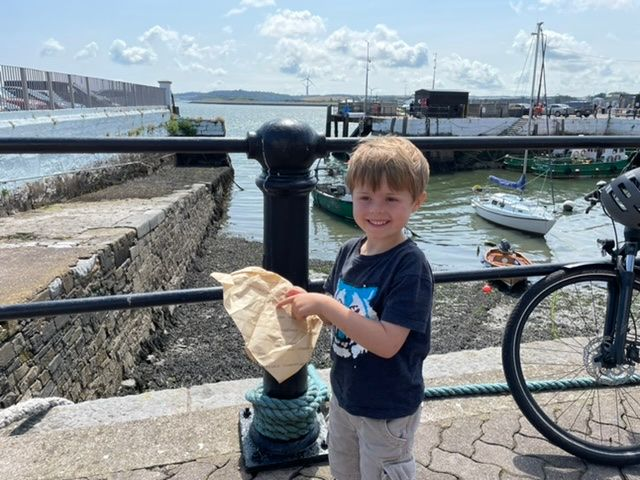 5 year olds spot compostable packaging and windfarms - change is happening but are we all individually (you and I) doing our part? featured image