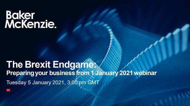 ICYMI: Brexit Endgame Webinar featured image