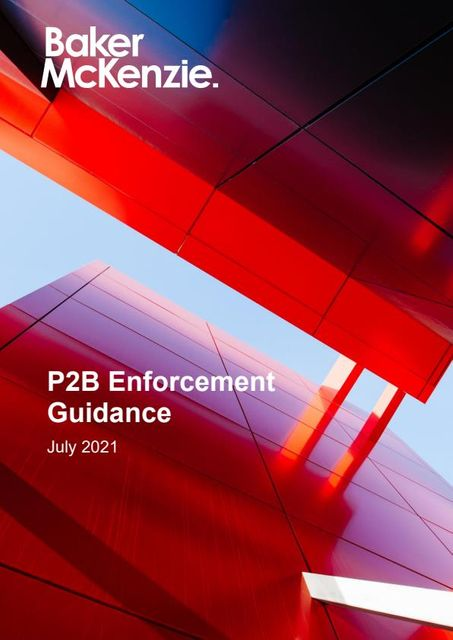 P2B Enforcement Update featured image