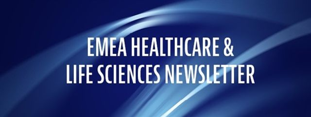 EMEA Healthcare and Life Sciences Newsletter - February 2021 featured image