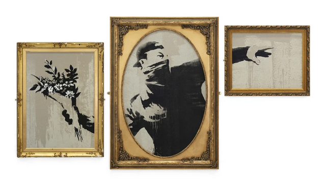 The [failed] attempt of Banksy to protect his works as trademarks - the Flower Thrower case featured image