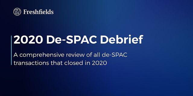 2020 De-SPAC Debrief featured image