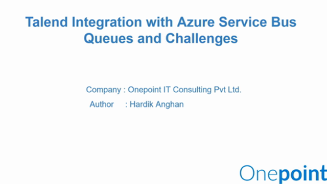 Extending Talend to overcome some of Azure Service Bus' limitations with a custom component. featured image