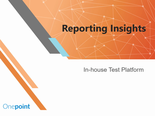 Reporting Insights from our In-house Test Platform featured image