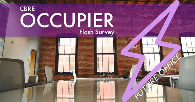 CBRE Occupier Flash Survey featured image