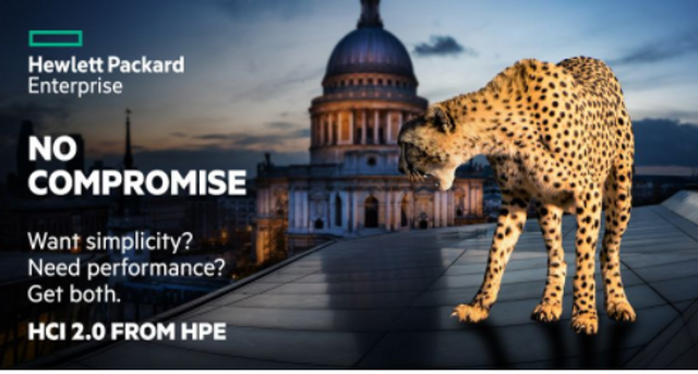 What does a Cheetah and St. Paul's have in common? HPE's latest campaign... featured image