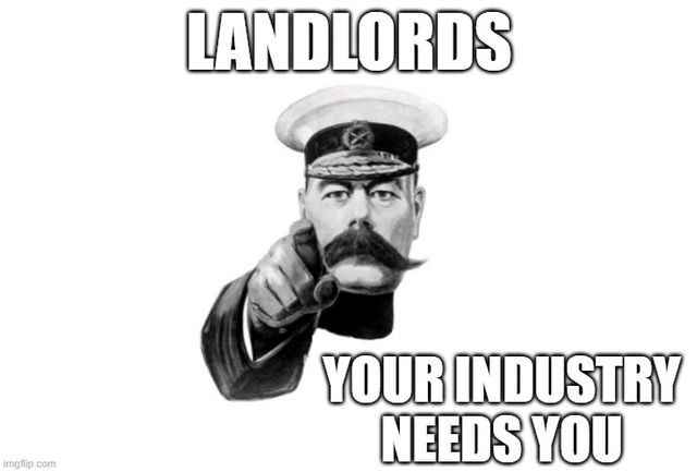 Landlords - Your industry needs YOU featured image