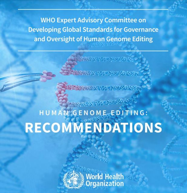 The World Health Organization: Recommendations on human genome editing featured image