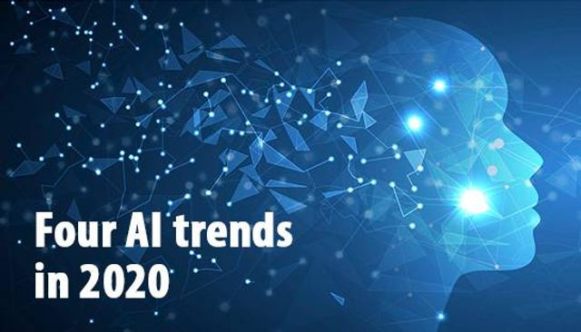 Four AI trends emerging over the next 12 months. featured image