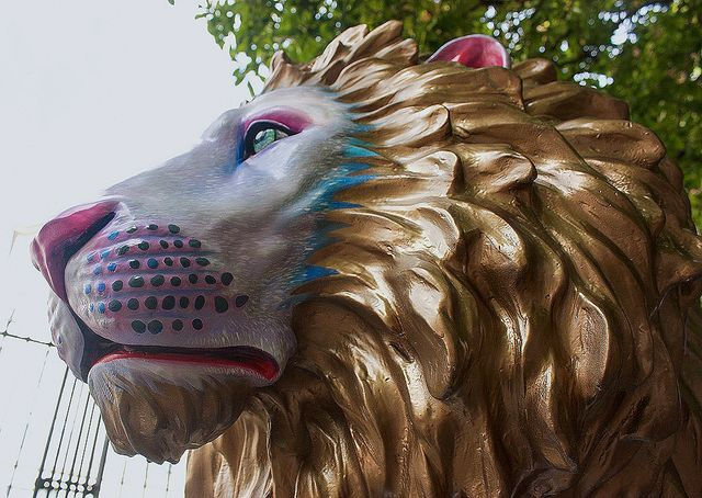 Nathan has been on the prowl & can now be found in Leicester Square 🦁 featured image