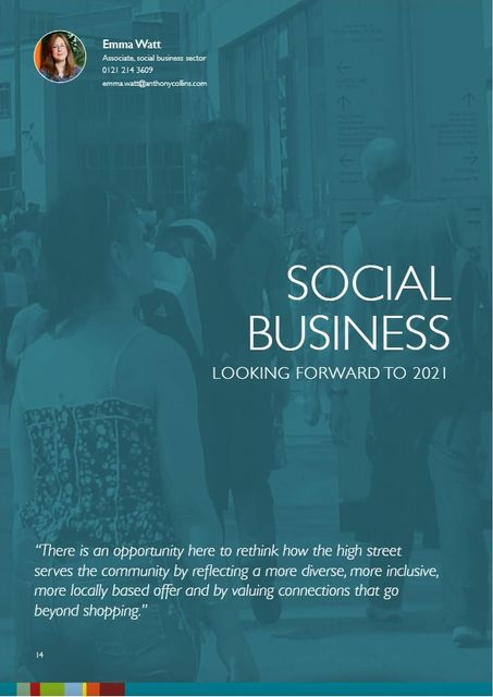 Looking forward to 2021 - Social business featured image